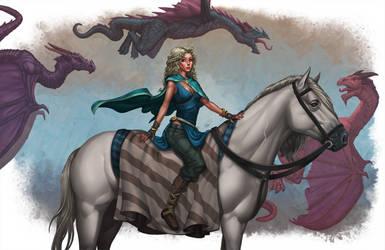 Daenerys Targaryen by b-nine