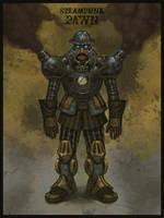 Steampunk --Pawn-- by b-nine