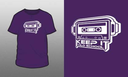 Old School Shirt Design by ronmustdie