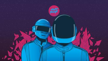 Daft Punk by ronmustdie