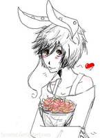 Mr. Cotton the Bunny by Huraimi