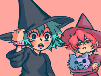 ARI*SHOW! - Witches! by albin0-toucan