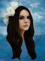 Lana Del Rey by MaxenceL