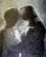 Aragorn and Arwen by eowynmaid