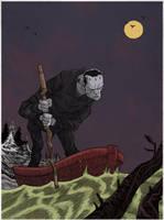 frankenstein's monster by marklaszlo666
