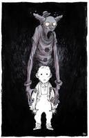 ghost clown by marklaszlo666