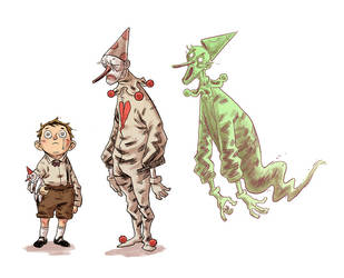 charactertests for a comic by marklaszlo666