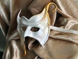 Aurelia - Leather Mask by xothique