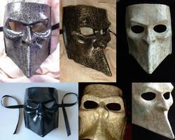 Bauta Masks by xothique