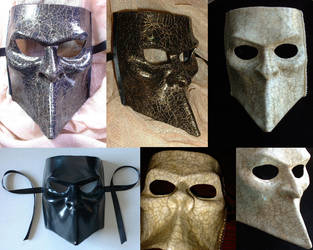 Bauta Masks by xothique