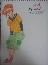 GIRL by black-solaf13