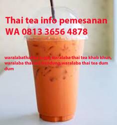TERENAK CALL WA 0813 3656 4878 THAI TEA VANILA by lancarpiranhamas