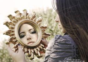through the looking glass by phoenixgraphixstudio