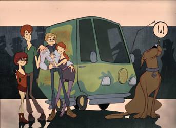 Scooby Doo Crew by JACKIEpainting