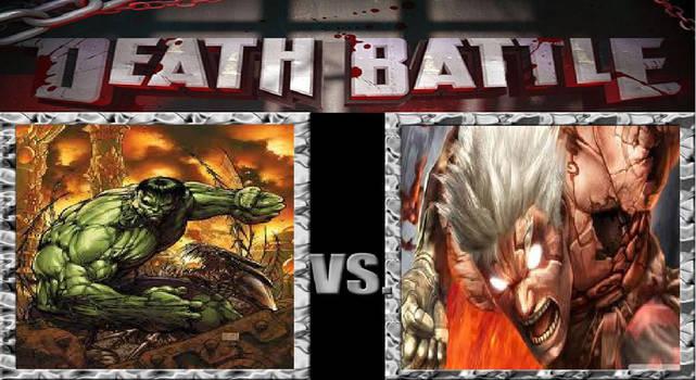 Death Battle: Asura vs The Hulk by MadnessAbe
