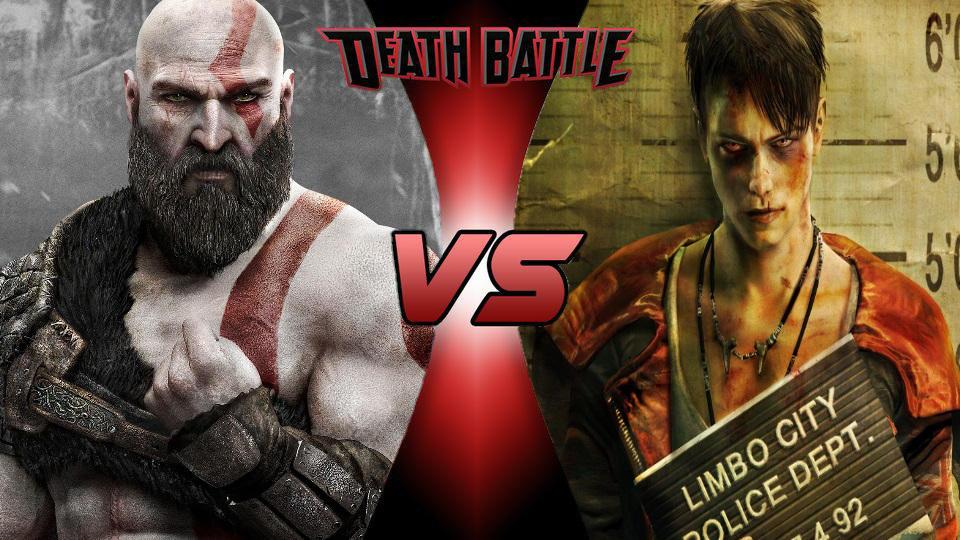 Kratos vs Dante by MadnessAbe