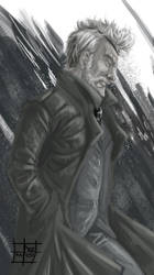 50 Day Sketches. #7: Big Boss by PacoSantoyo