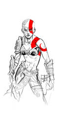 50 Day Sketches. #9: Character gender swap by PacoSantoyo