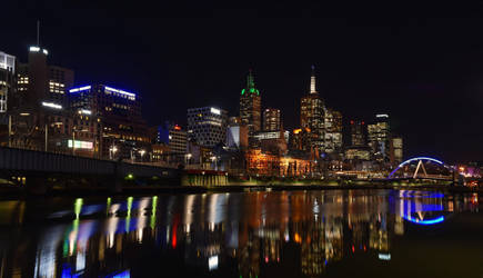 Southbank in Melbourne by destroyerofducks