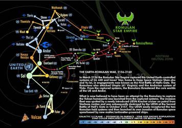 Romulan War Map by Masazaki