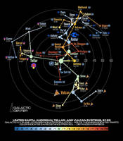 United Eart, Andor, Vulcan, and Tellar space, 2155 by Masazaki