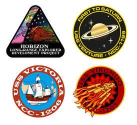 Horizon emblems by Masazaki