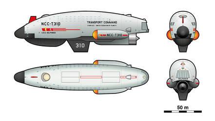 Delphinus-class Transport by Masazaki