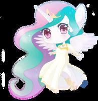 princess celestia by Lea by 4Bitten