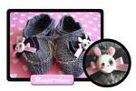 Usagi slippers by Erikor