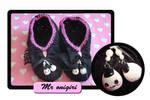Onigiri slippers by Erikor