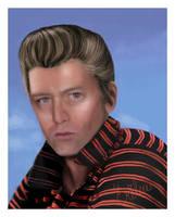 Fredrik goes Elvis by Erikor