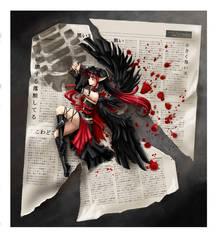 Little black angel by Erikor