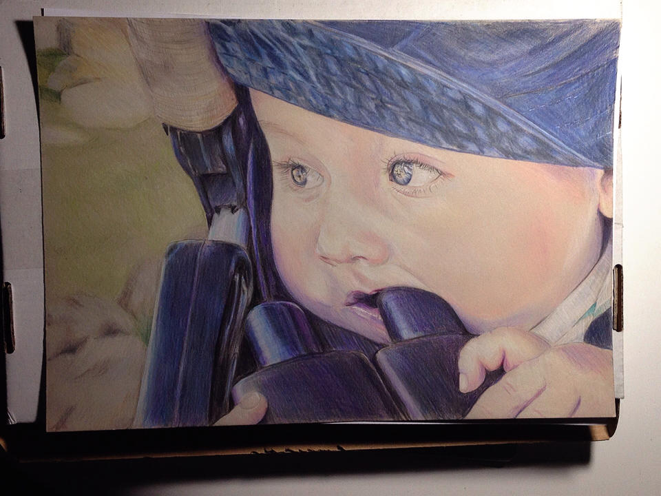 Portrait of my son by Erikor