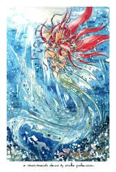 A mermaids dance by Erikor