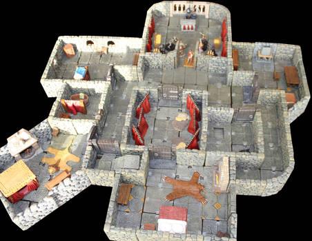 Pathfinder Foxglove manor to Lost End upper floor by MrVergee