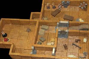Graul homestead basement by MrVergee