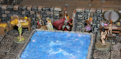 Pathfinder Harrowing Striding Fortress Courtesans by MrVergee