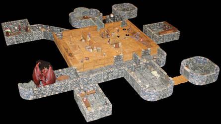 Castle Korvosa attic 2 by MrVergee