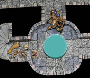 Architect opens plug to Runelord Sorshen's vault by MrVergee