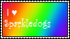 Sparkledog Stamp by KittenLover34679