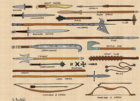 Weapons I by Sin-Nombre-RPG