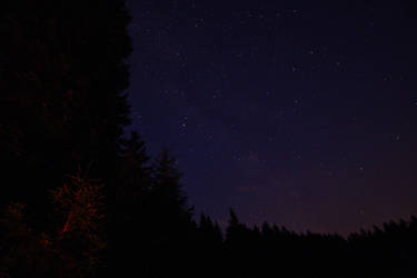 Stars at the Flambacher Lake by kErstinR