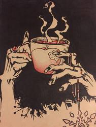 Dangerous Tea Time by coconutcow