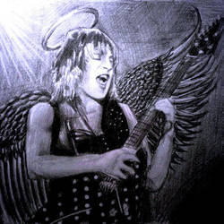 Randy Rhoads Angel by aerokay