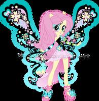 MLP:EG - Shy Butterfly Vector by CrimSumiC