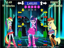Twilight Sparkle's Dance Dance Revolution! by j4lambert