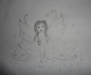 A Fairy ! by Sneha-07