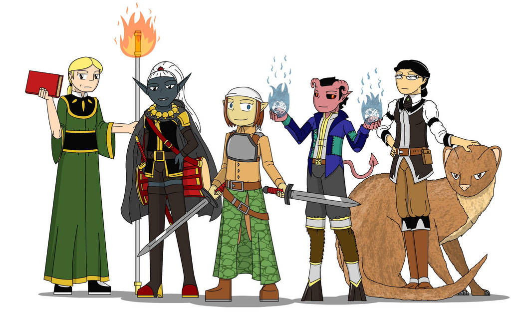 Dungeons and Dragons! The Specter Slayers (Team 3) by SoakMonkey