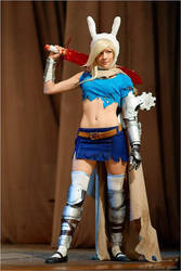Fionna in chaos costume 2 by KaitoEinsam
