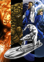 Fantastic four by Elforim